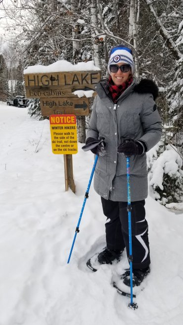 We tackle this trail on snowshoes over New Years Weekend this past year. I'm sure it's equally as beautiful in the summer!