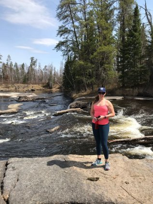 Pine Point Rapids- a great place for a picnic lunch!